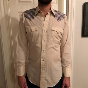 Other - Authentic Western pearl snap button down